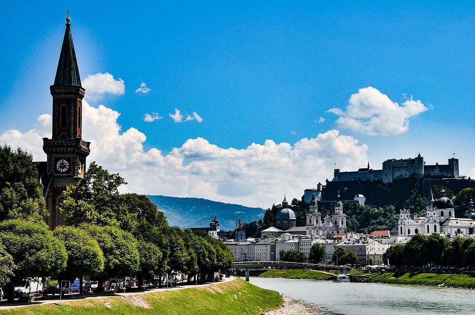 Salzburg in de zomer