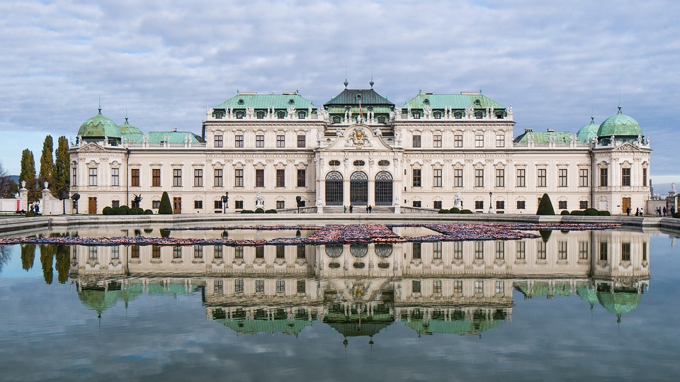 Castle, Belvedere, Vienna, Architecture