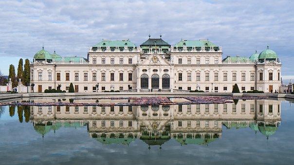 Castillo, Belvedere, Viena, Arquitectura