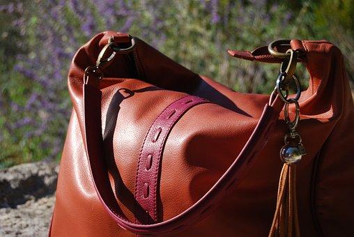 Bag, Leather, Skin
