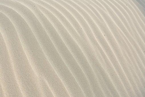 Sand Pattern Wave Texture Sand Backgr