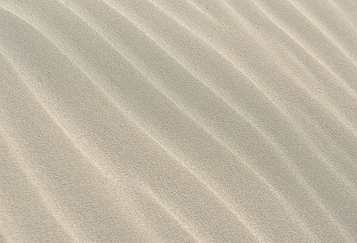 Sand, Pattern, Wave, Background