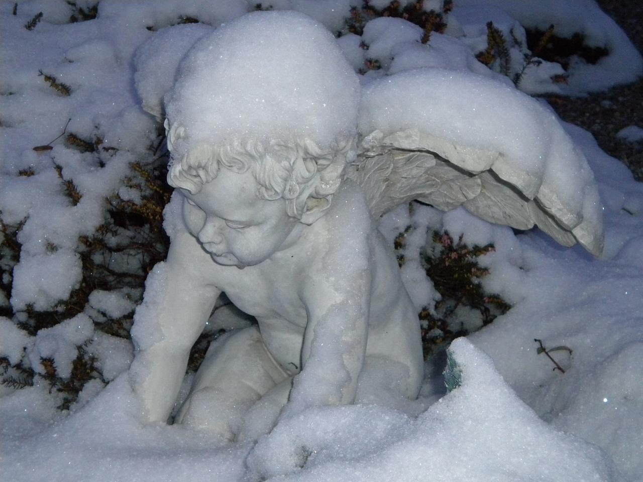 простым день снежных ангелов картинки запахов звуков