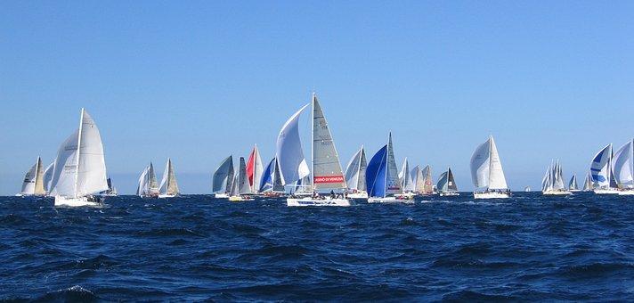 Barcolana, Vela, Sea, Wind, Boats