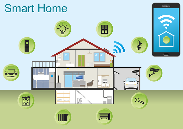 Free Vector Graphic: Smart Home, Home, Technology