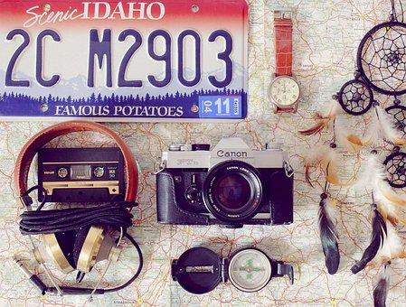 Camera, Analog, Fashion, Travel, Holiday