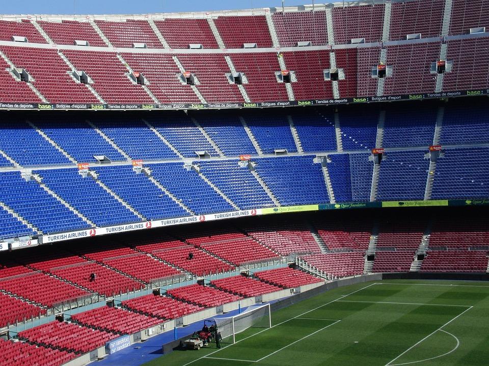 Camp Nou Barcelona Barca Kostenloses Foto Auf Pixabay