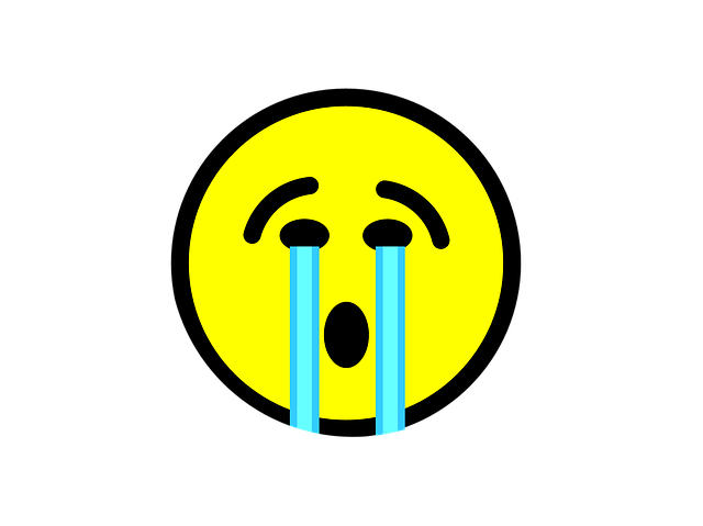 Free Illustration: Emoji, Crying, Emoticon, Face, Sad