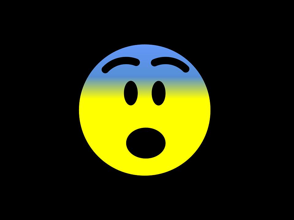 Emoji Asustado Emoticon · Imagen Gratis En Pixabay