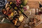 płyty, żywności, pyszne jedzenie