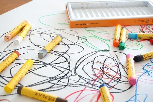 Crayon, Graffiti, Drawing, Parenting