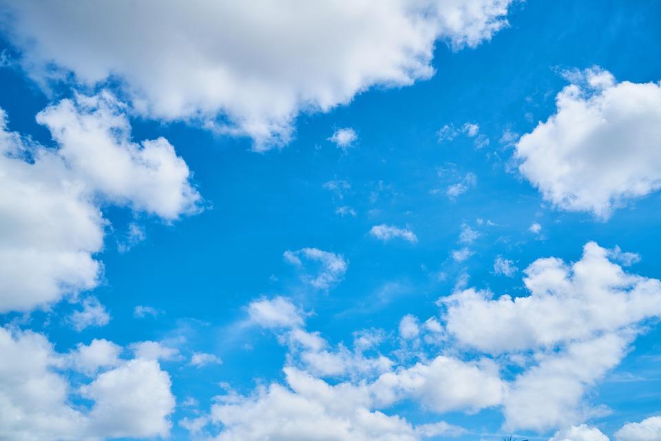 Fotos E Imagenes Cielo Azul Con Nubes: Cielo Azul Nubes · Foto Gratis En Pixabay