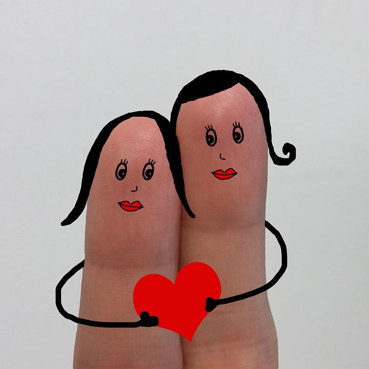 Dedos Dibujo Amor Imagen Gratis En Pixabay