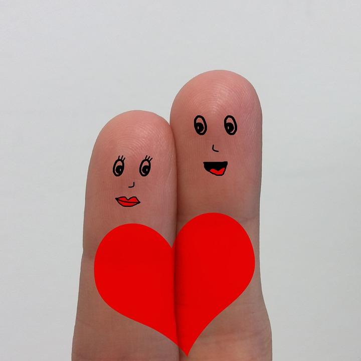 Doigts Dessin Amour Image Gratuite Sur Pixabay