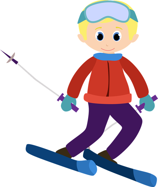 alpine ski clipart free vector graphic on pixabay rh pixabay com ski clipart black and white ski clipart black and white