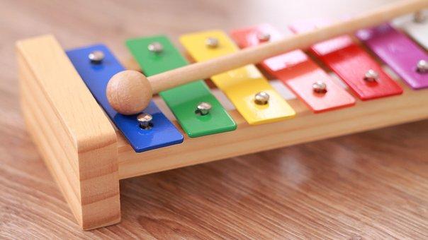 Instrument Becken Musik Kinderzimmer Spiel