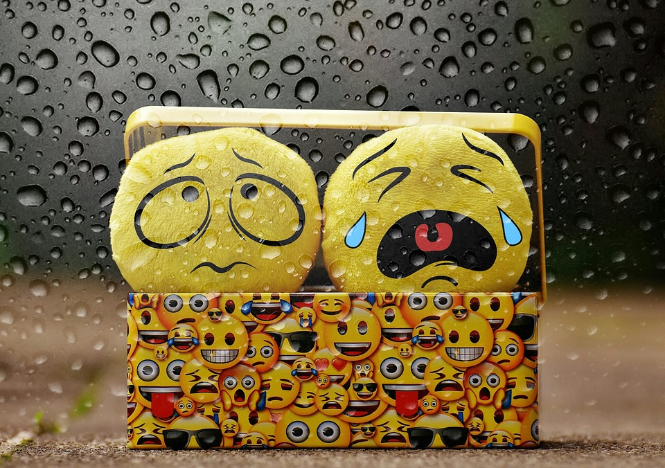 泣く, 悪い天気, 雨, 点滴, スマイリー, 悲しい