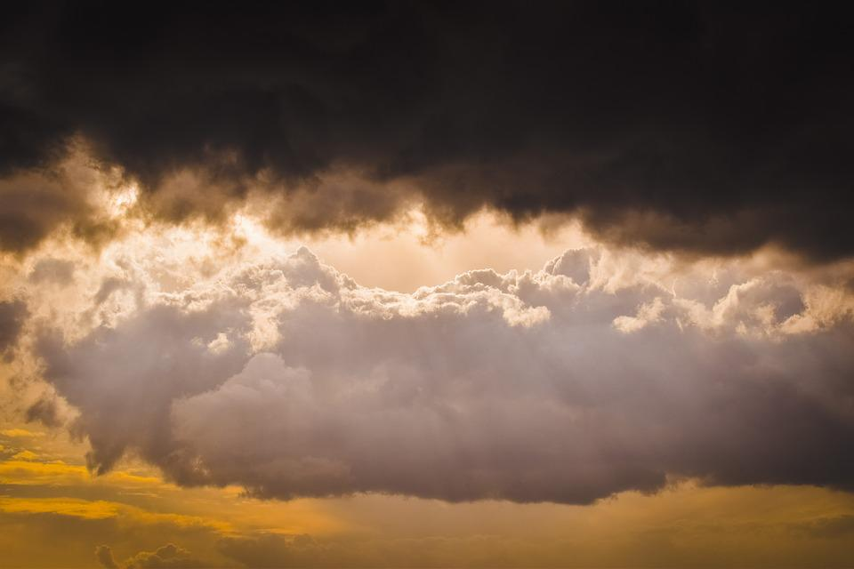 Clouds, Stormy, Sky, Nature, Dramatic, Cloudscape