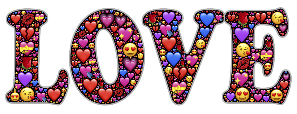 Love, Emoji, Hearts, Valentine, Affection, Attraction