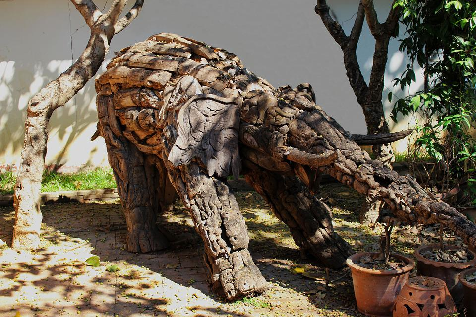 Elefant Kunst Holz · Kostenloses Foto auf Pixabay