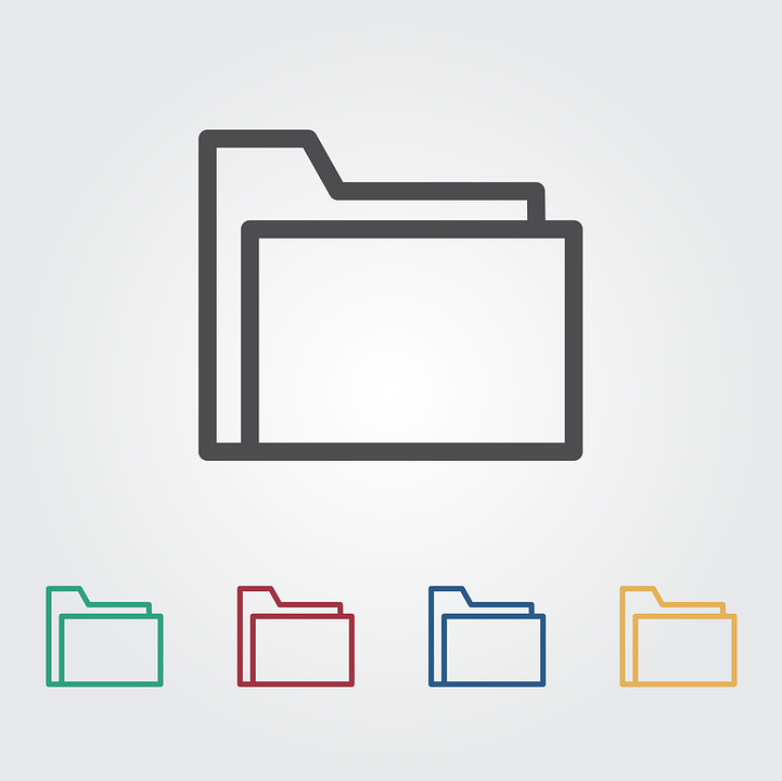 Folder, Icon, File, Business, Document, Sign, Symbol