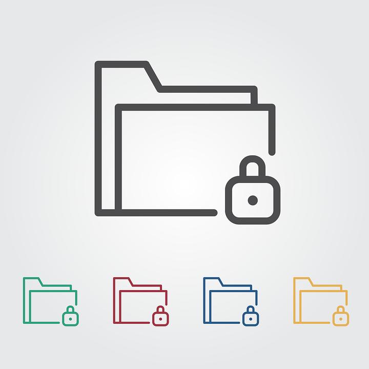 lock folder icon  u00b7 free vector graphic on pixabay security clip art border security clip art free