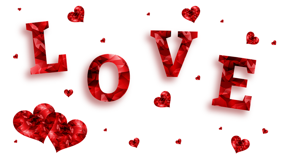 love hearts banner free image on pixabay