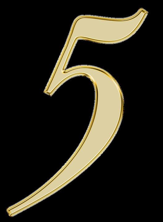 free illustration  number  5  five  digit  background - free image on pixabay