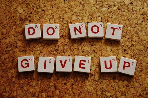Do Not Give Up, Motivation, Live