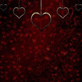 Background Scrapbooking Paper Gothic Heart