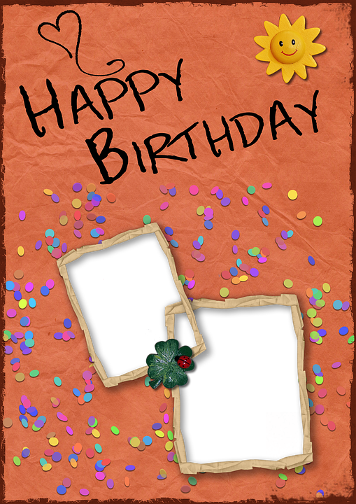 Birthday Background Card Free Image On Pixabay