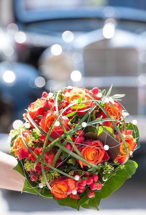 Blumen Brautstrauss Hochzeitsstrauss Kostenloses Foto Auf Pixabay