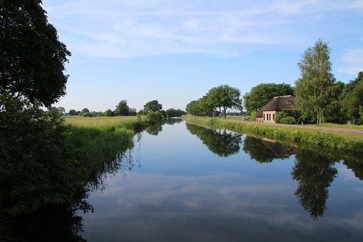 Natuur, Apeldoorn, Kanaal, Gelderland
