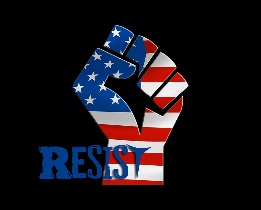 Trump, Donald Trump, Resist, Resistance, March, Against