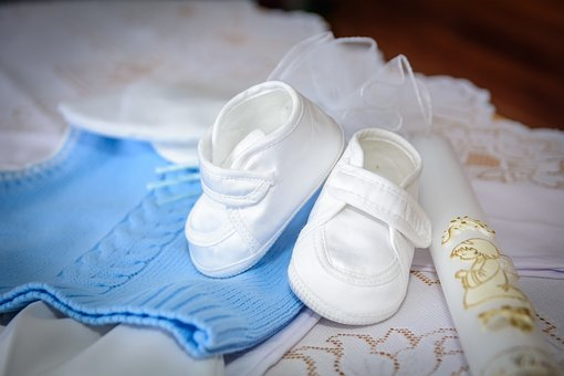 Shoes, Baptism, Ceremony, Retro