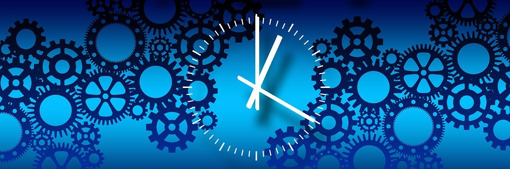 Gears, Clock, Process