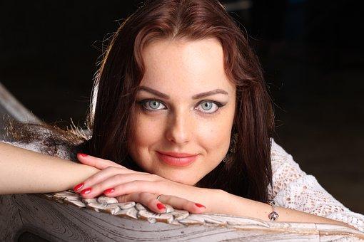 Глаза, Красивая Девушка, Девушка, Лицо