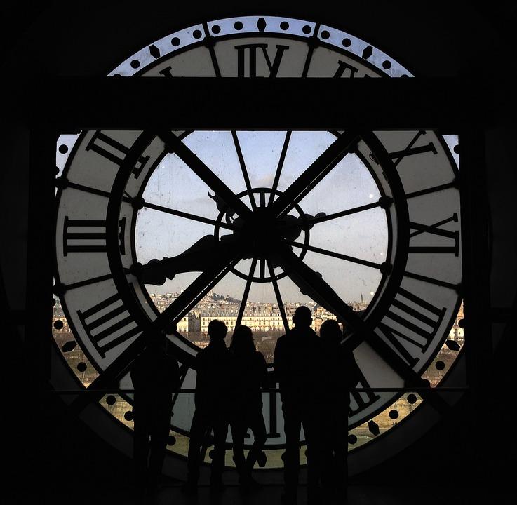 Paris, Watch, Museum, Panorama, Tourists, Musée D'Orsay