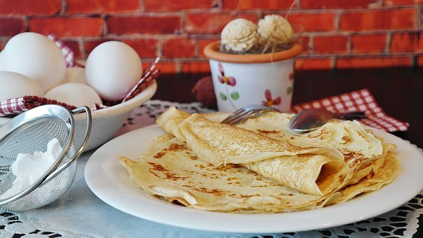 Pancakes, Pancake, Crepe, Süsspeise, Egg