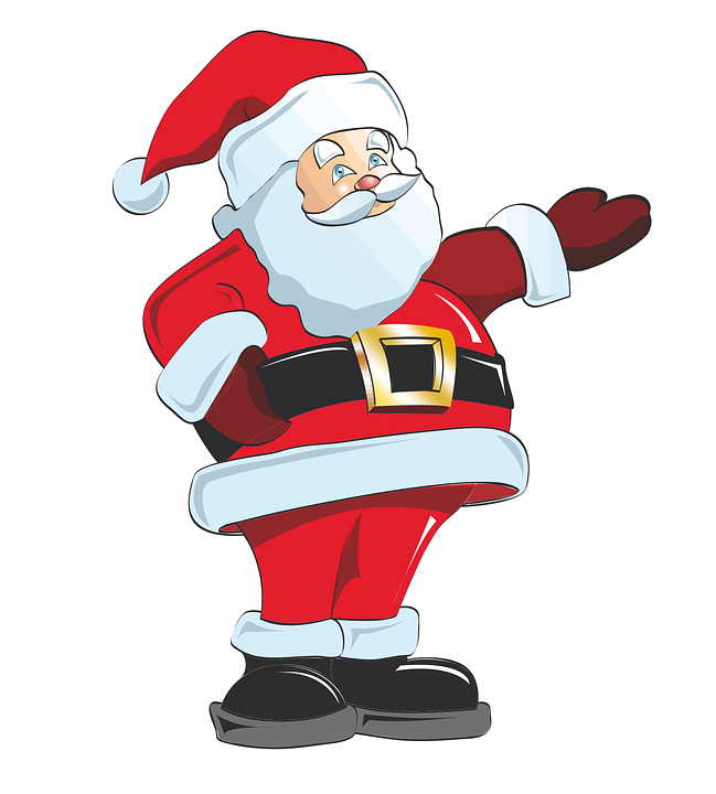 Father Christmas Images Free.Father Christmas Eve Free Vector Graphic On Pixabay