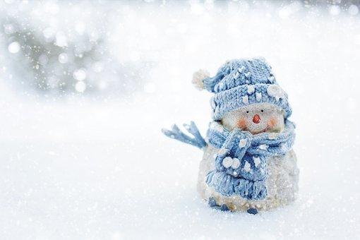 มนุษย์หิมะ, ฤดูหนาว, หิมะ