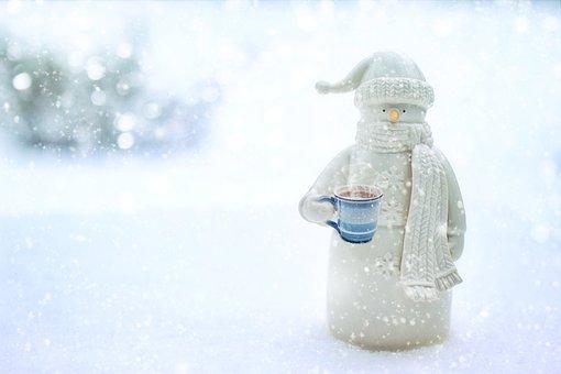 Snowman, Zima, Śnieg, Śnieżny, Sezon