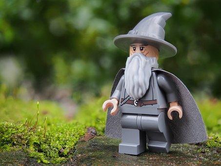 Guidata, Gandalf, Lego, Magia, Stregone