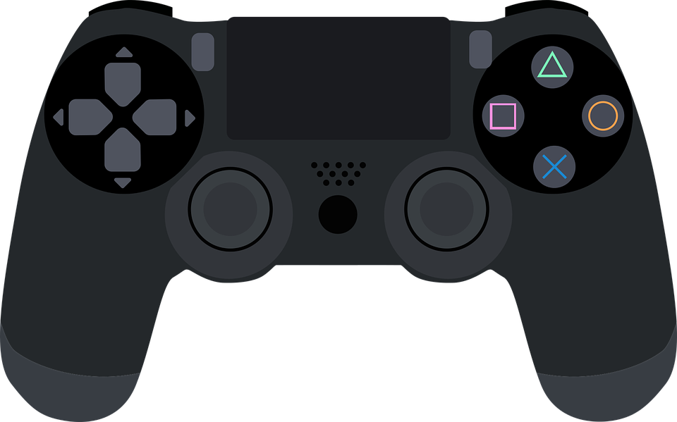 Kontroller, Juegos, Ps4, Playstation, Jugar, Virtual