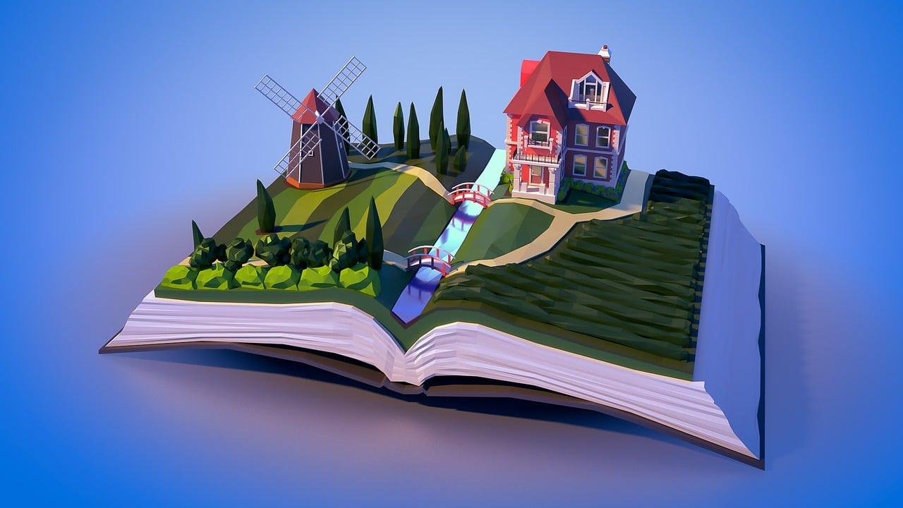 Landscape Book House - Free image on Pixabay