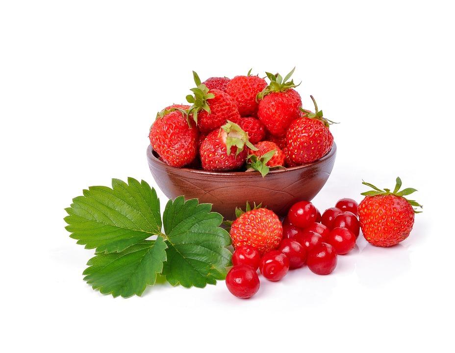 Erdbeeren & Kirschen