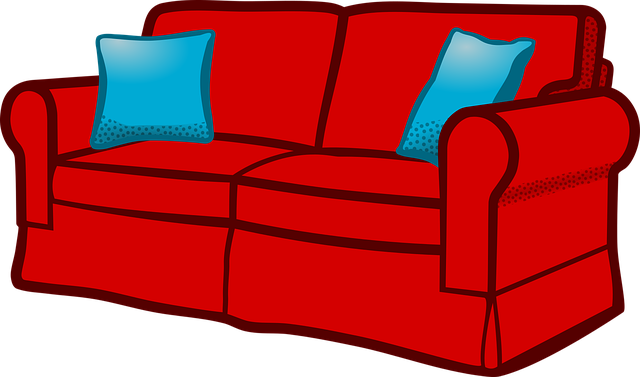 Couch Furniture Sofa 183 Free Vector Graphic On Pixabay