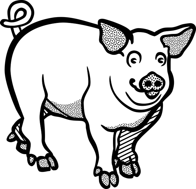 Pig Animal Farm Free Vector Graphic On Pixabay