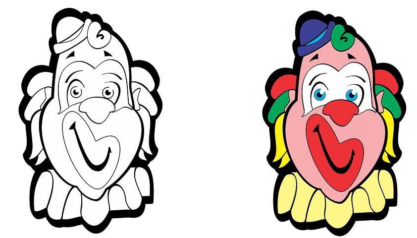 картинка лицо клоуна душевном разладе после
