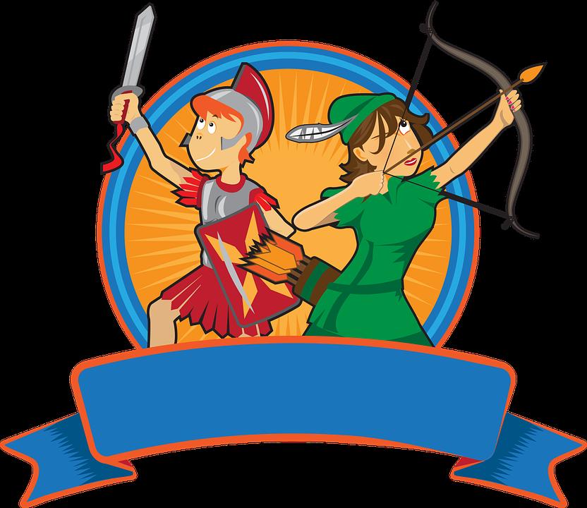 Cartoon Ritter in der Rüstung mit Schwert und Schild | Ritter zeichnung,  Ritter, Zeichentrickfilme